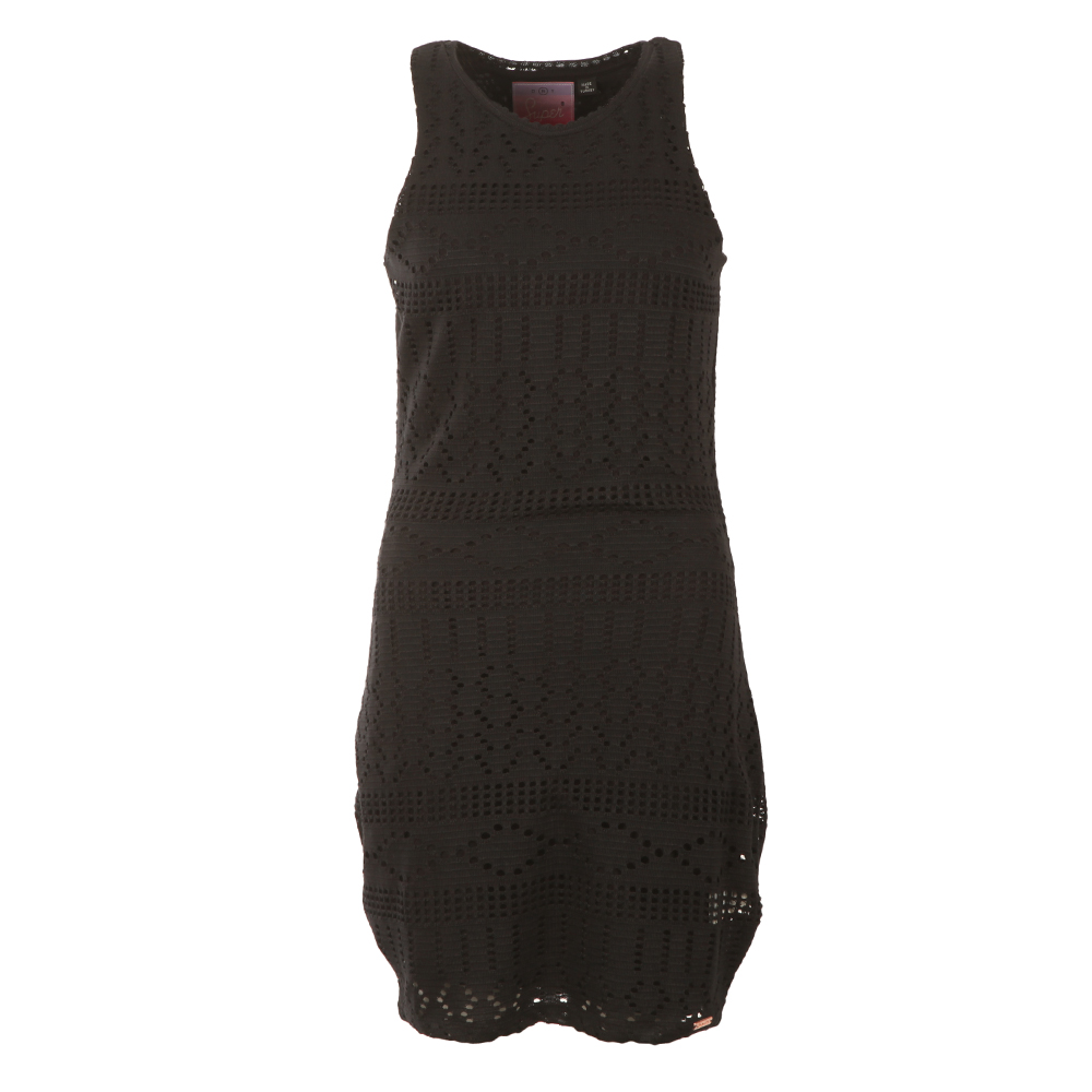 Crochet Knit Bodycon Dress main image