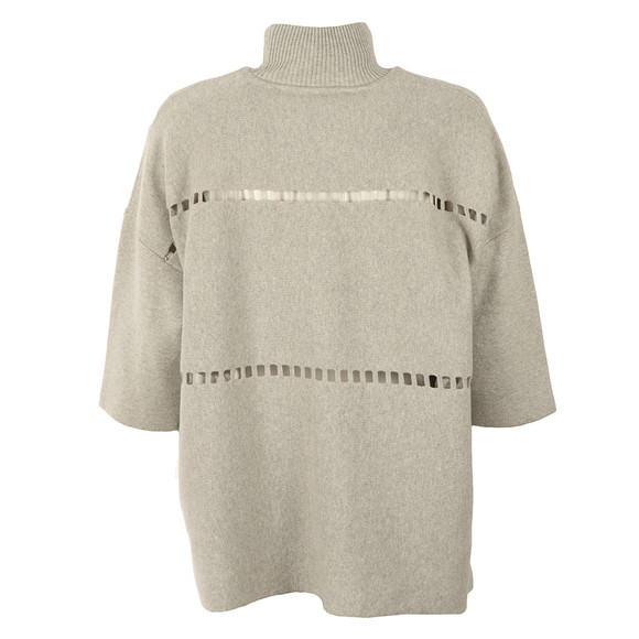 French Connection Womens Grey Milano Mozart High Neck Knit main image