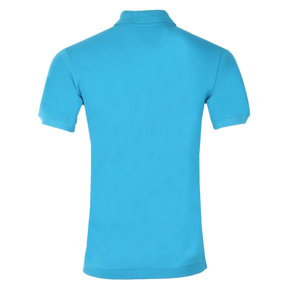 Lacoste Mens Blue L1212 Plain Polo Shirt main image