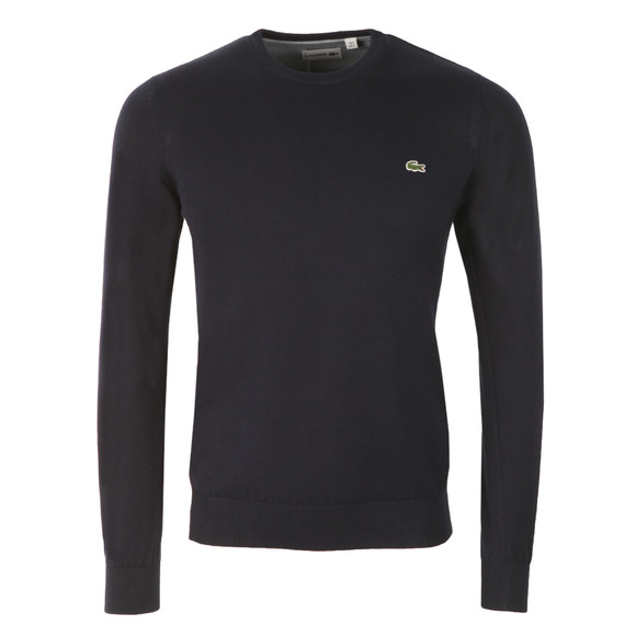 Lacoste Mens Blue AH4888 Crew Neck Jumper main image