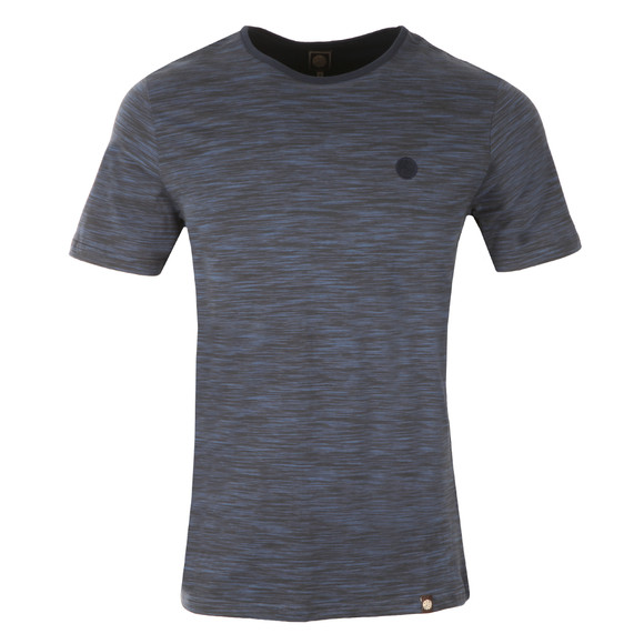 Pretty Green Mens Blue Rosebank T Shirt main image