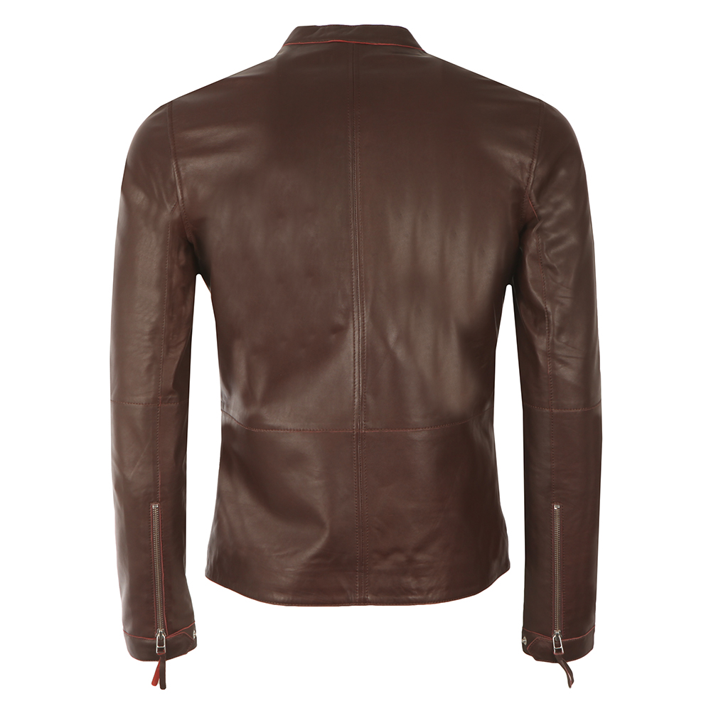 Addison Leather Biker Jacket main image