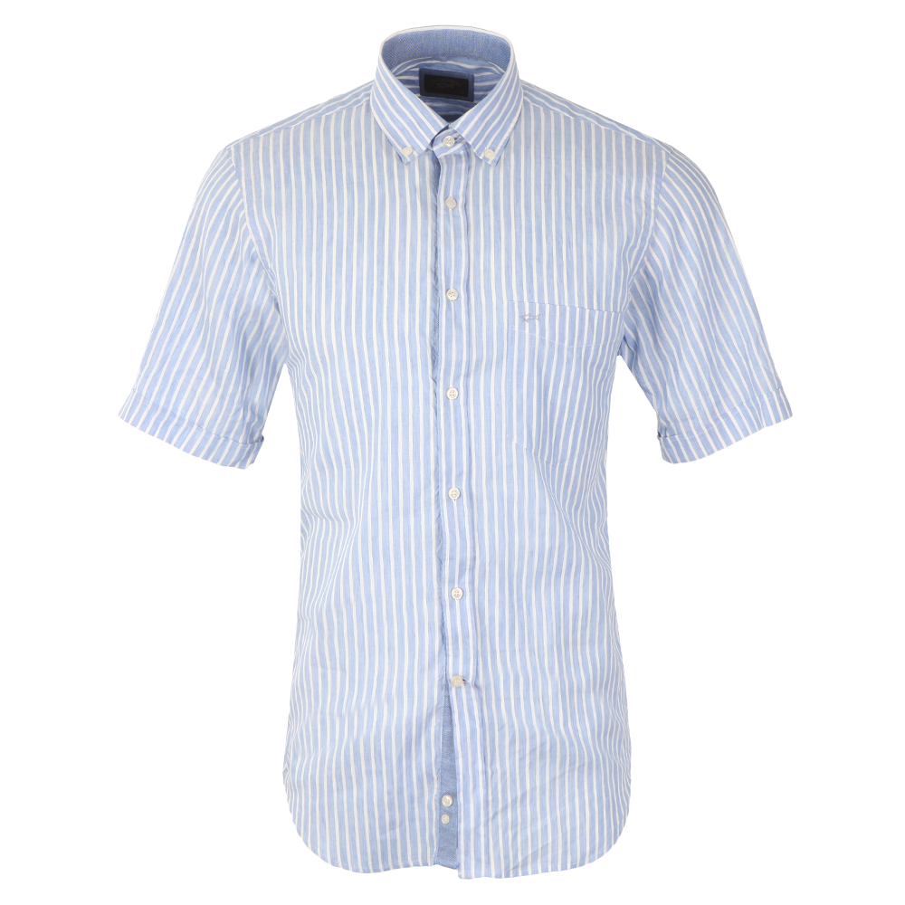 Linen Mix Short Sleeve Shirt