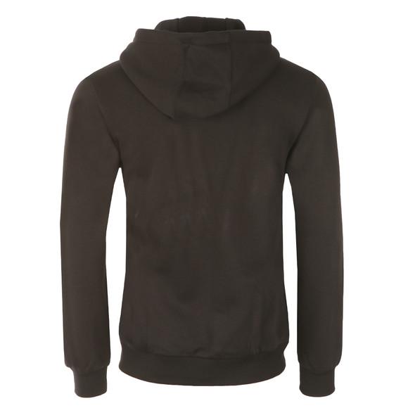 Adidas Originals Mens Black Trefoil Full Zip Hooded Sweat main image