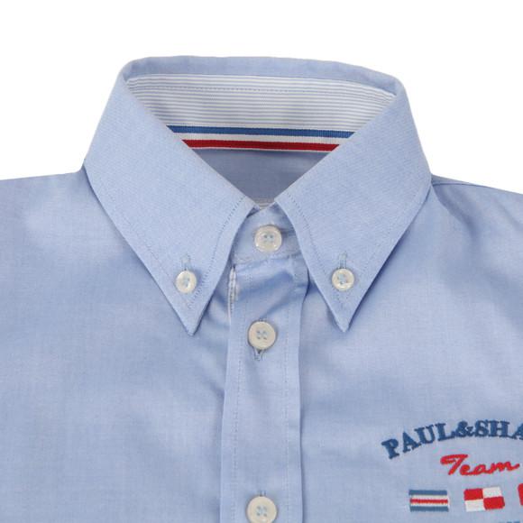 Paul & Shark Cadets Boys Blue Royal Yachting Shirt main image
