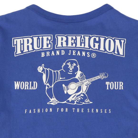 True Religion Boys Blue Branded Buddha Tee main image