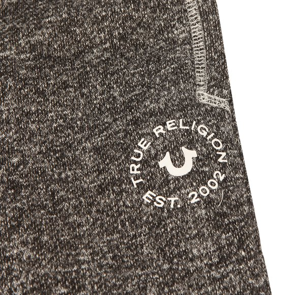 True Religion Boys Black Marled Sweatpants main image