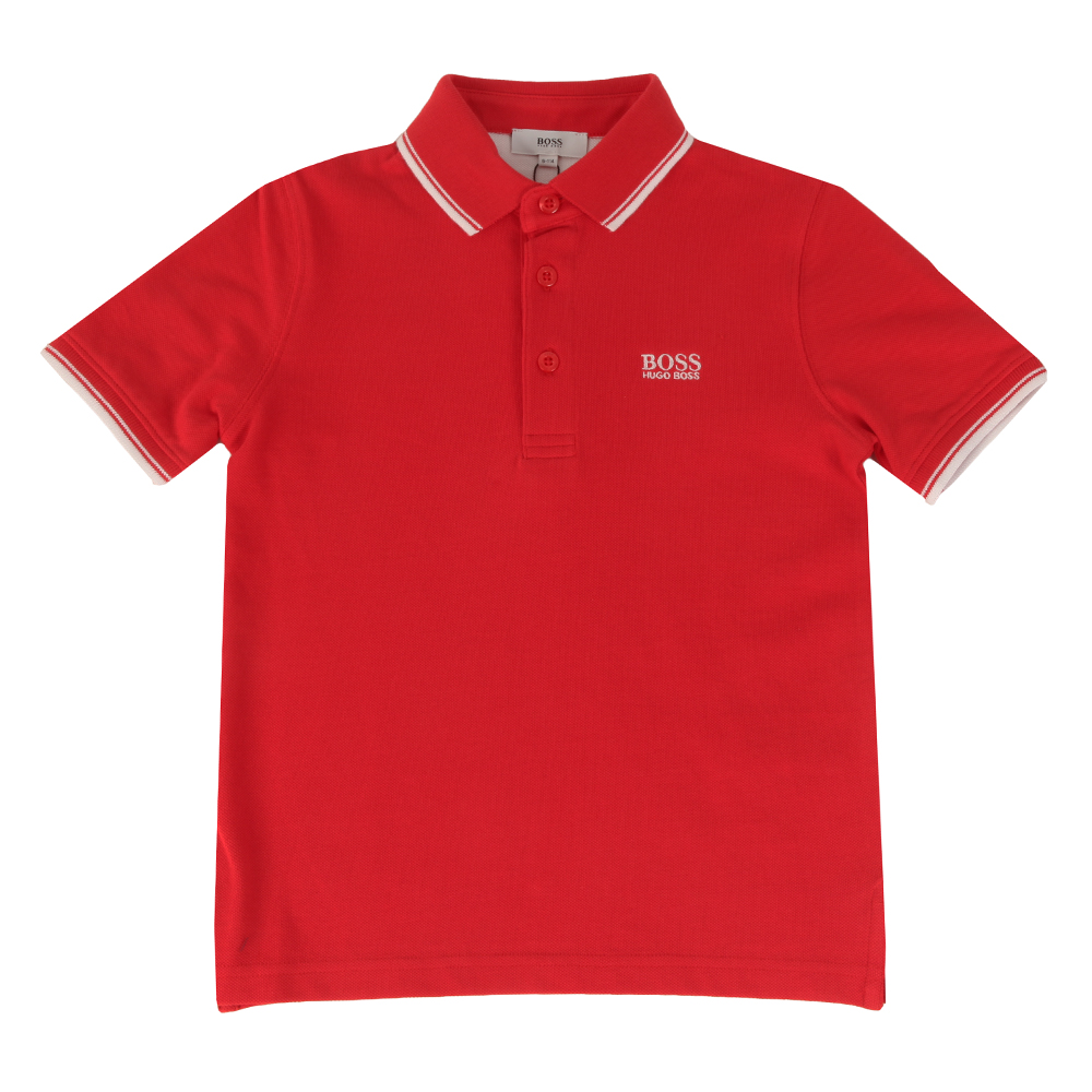 Baby Tipped Polo Shirt main image
