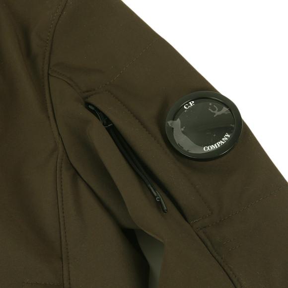 CP Company Undersixteen Boys Green Soft Shell Bomber Jacket main image