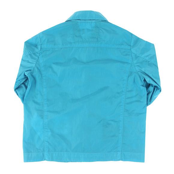 CP Company Undersixteen Boys Blue Nylon Chrome Overshirt main image