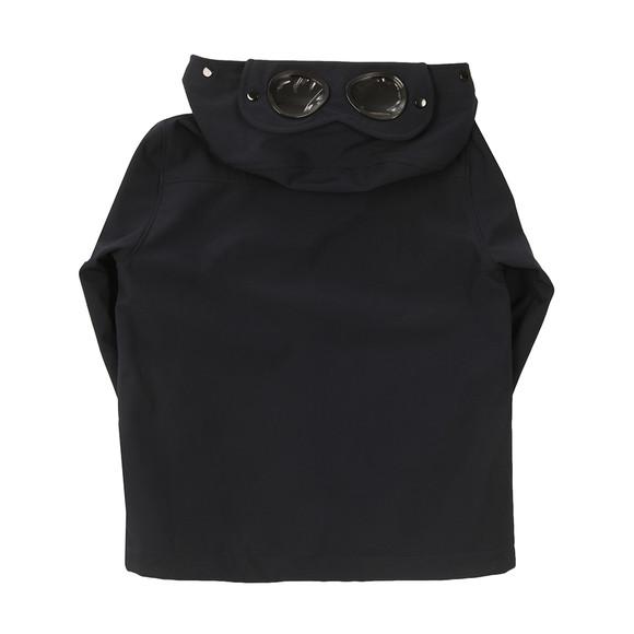 CP Company Undersixteen Boys Blue Lightweight Soft Shell Goggle Jacket main image