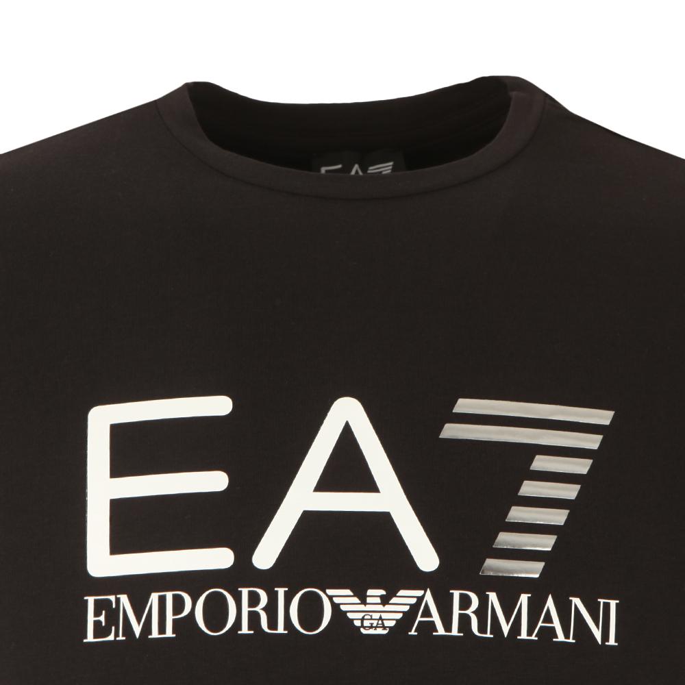 Ea7 emporio armani large logo t shirt oxygen clothing - Emporio giorgio armani logo ...