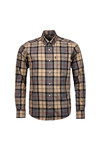 Barbour Lifestyle Mens Grey L/S Herbert Shirt