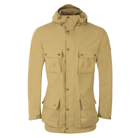 Barbour International Mens Beige Drag Jacket main image