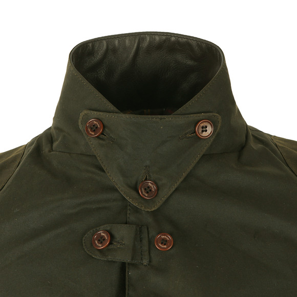 Barbour Heritage Mens Green Beacon Sports Jacket main image