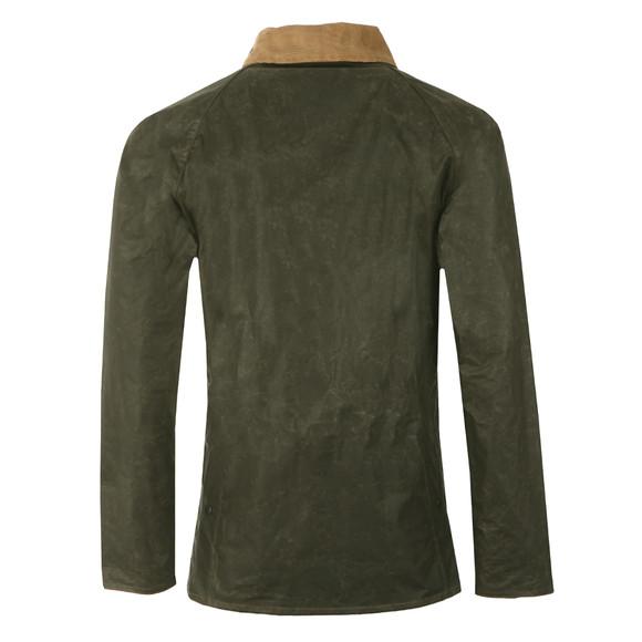 Barbour Heritage Mens Green Truss Wax Jacket main image