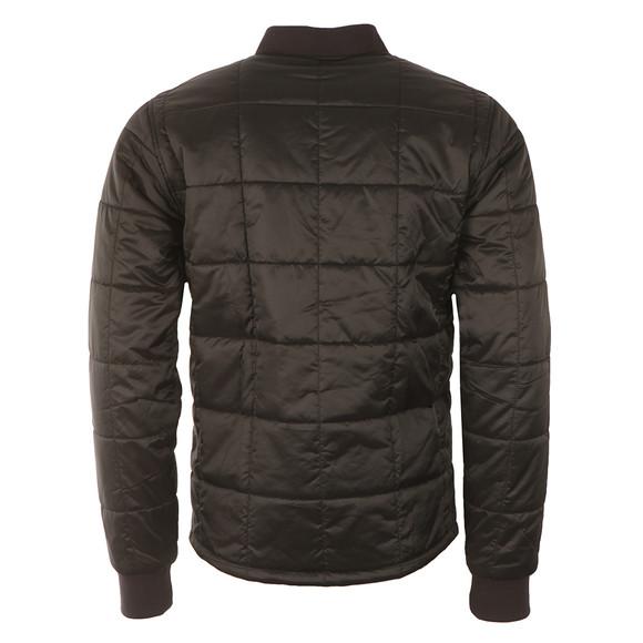 Barbour International Mens Black Worn Quilt Jacket main image