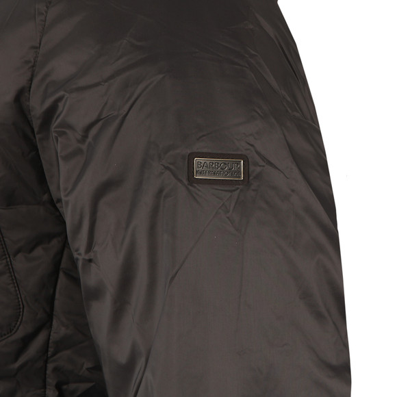 Barbour International Mens Black Catcher Quilt Jacket main image