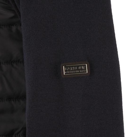 Barbour International Mens Blue Full Zip Cadwell Jacket main image