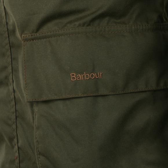 Barbour Lifestyle Mens Green  Bristol Wax Jacket main image