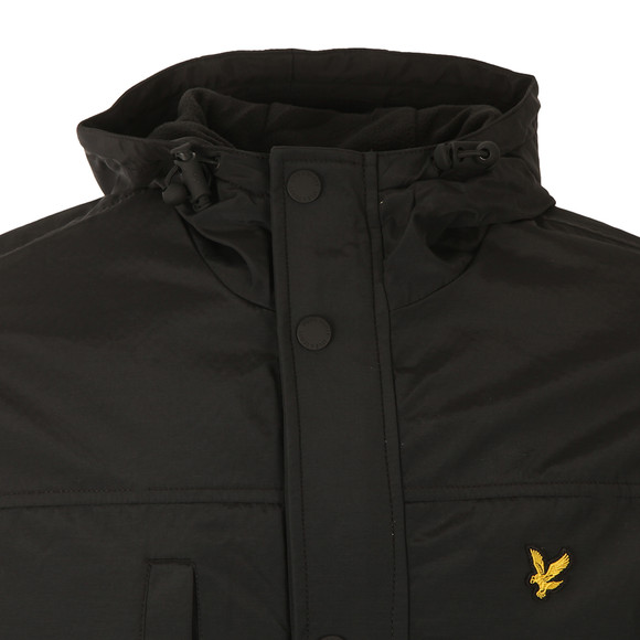 Lyle and Scott Mens Black Microfleece Lined Jacket main image