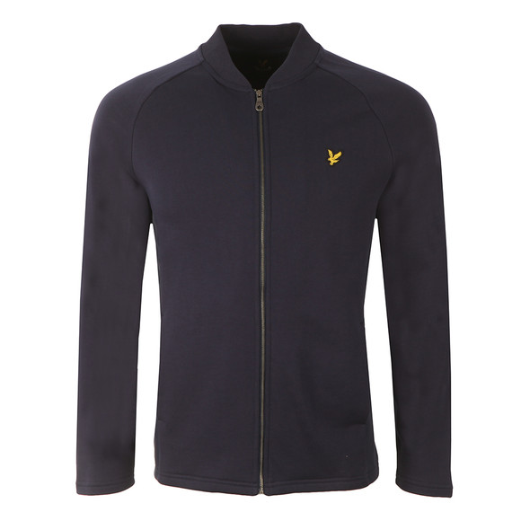 Lyle and Scott Mens Blue Seam Pocket Bomber main image