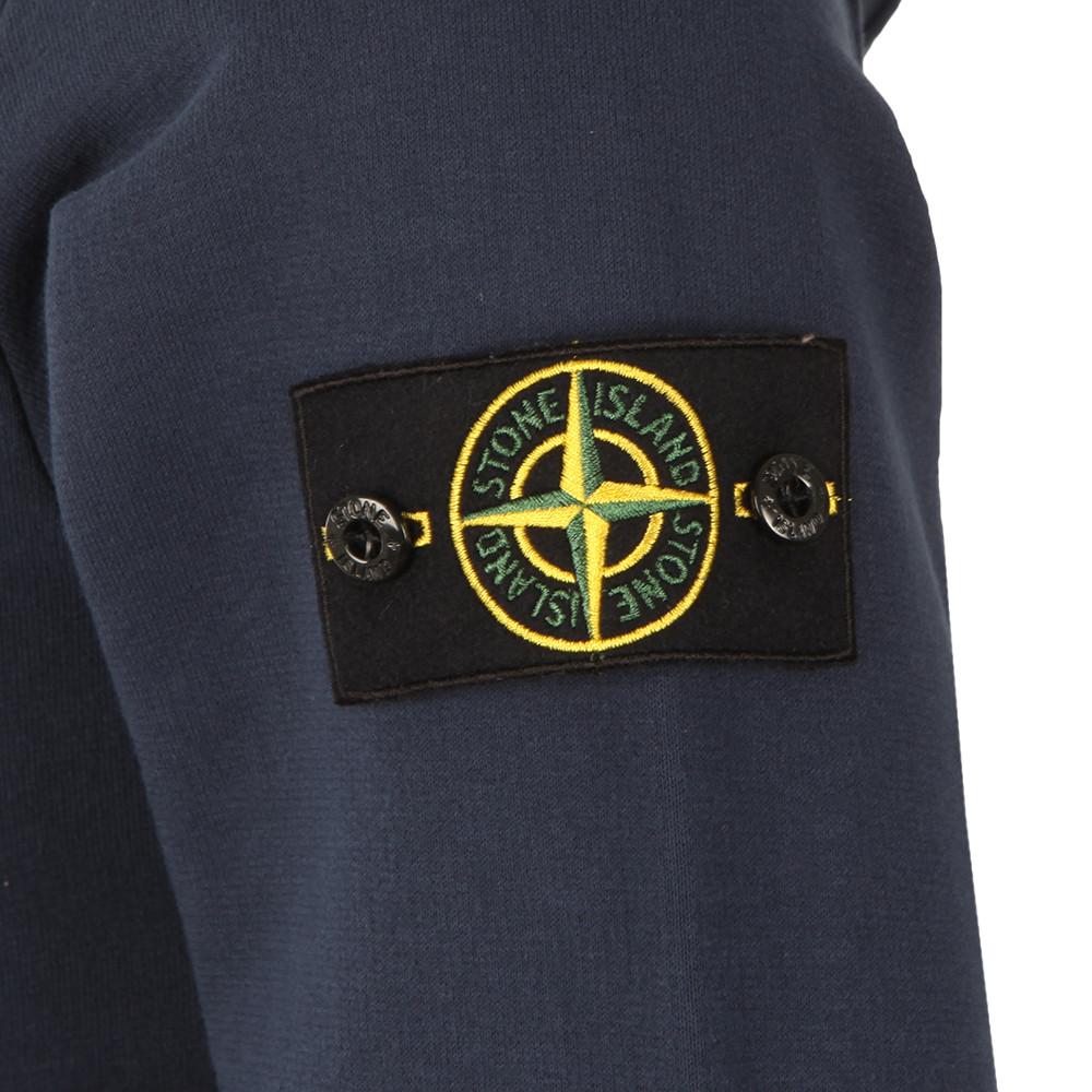 Full Zip Sleeve Badge Hoody main image