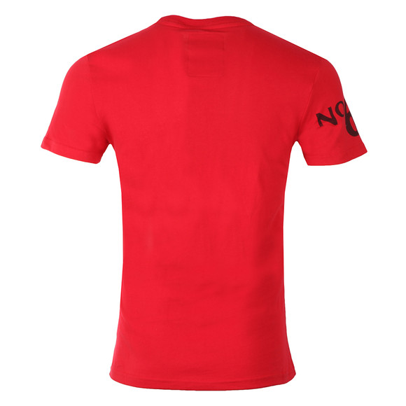 Superdry Mens Red S/S Finery Tee main image