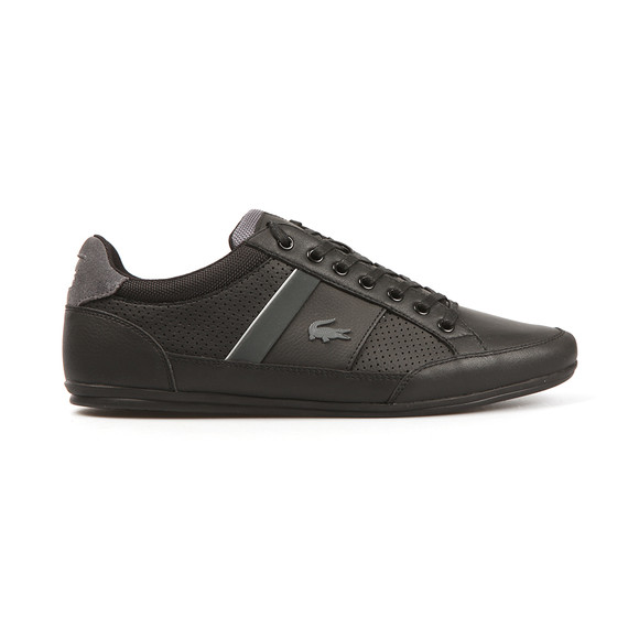 Lacoste Mens Black Chaymon G117 1 Trainers main image