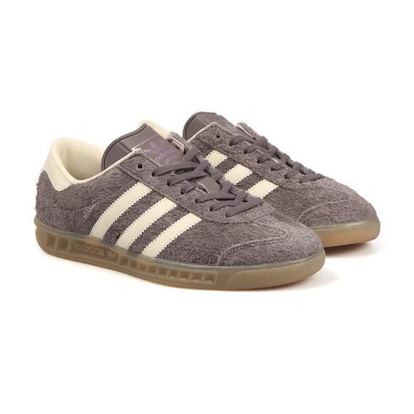 Adidas Originals Womens Grey Hamburg Trainer main image