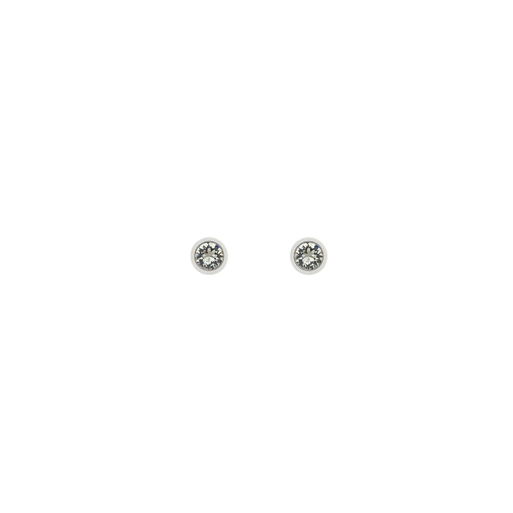 crystal front studs black products sip swarovski jewelry earrings sangria rhodium stud