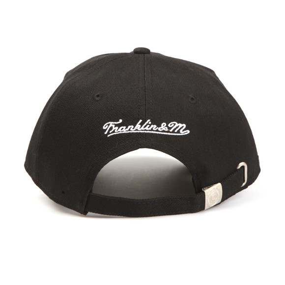Franklin & Marshall Mens Black Embroidered Logo Cap  main image