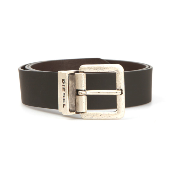 Diesel Mens Black B-Doublec Reversible Belt main image