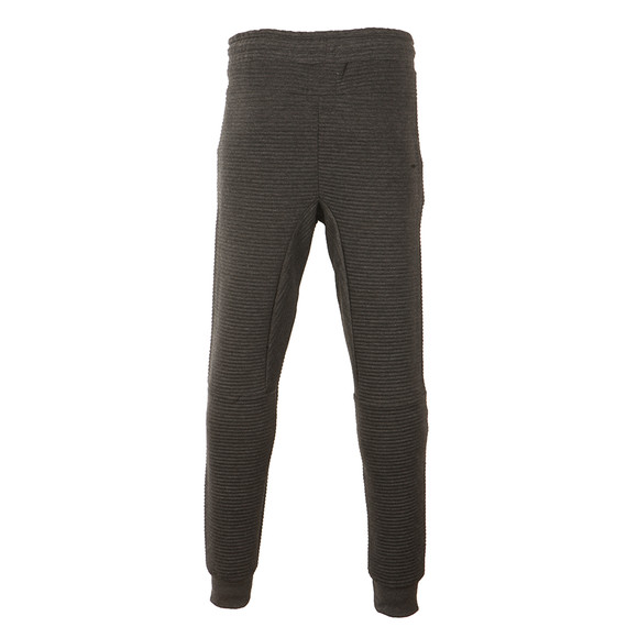 Hype Mens Grey Ribbed Joggers  main image