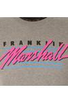 Franklin & Marshall Mens Grey Skateboard Crew Neck T-Shirt