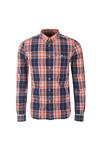 Superdry Mens Multicoloured L/S Washbasket  Shirt