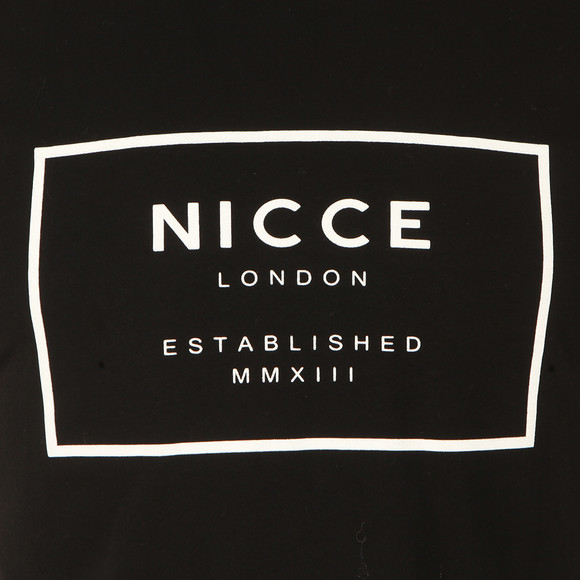 Nicce Mens Black Est 13 T Shirt main image