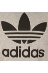 Adidas Originals Mens Grey Trefoil Tee
