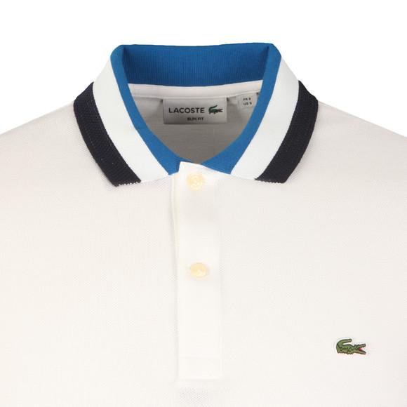 Lacoste Mens White PH2011 S/S Polo main image