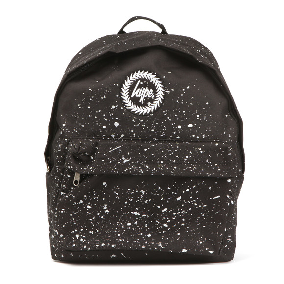 Hype Unisex Black Speckle Backpack main image