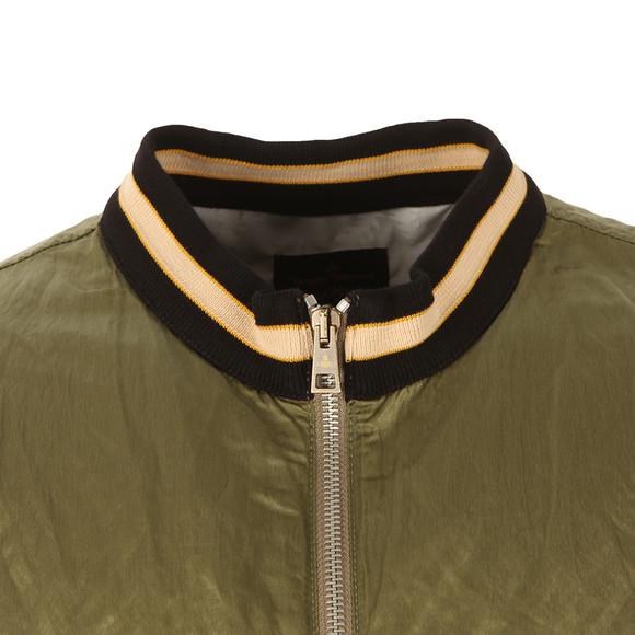Vivienne Westwood Anglomania Mens Green Souvenir Bomber Jacket  main image