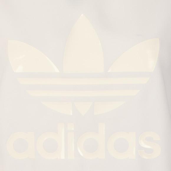 Adidas Originals Womens White Boyfriend Trefoil Tee main image
