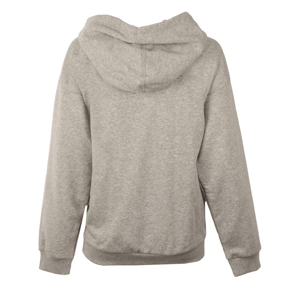 Adidas Originals Womens Grey Trefoil Logo Hoody main image