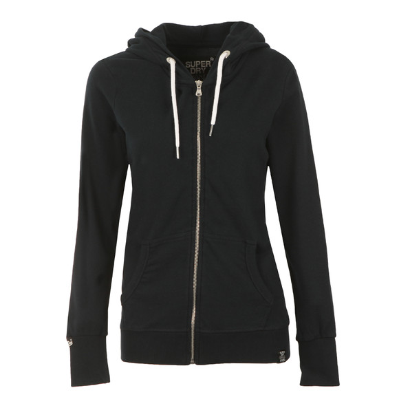Superdry Womens Blue OL Luxe Edition Zip Hoody main image