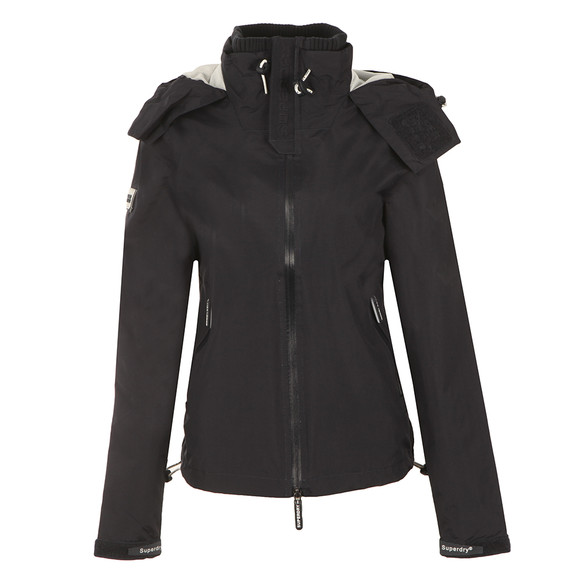 Superdry Womens Blue Cliff Hiker Jacket main image
