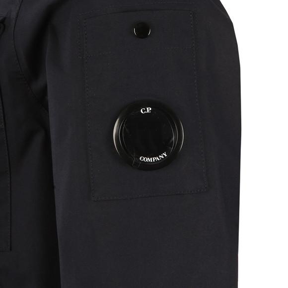 CP Company Mens Blue Lightweight Waterproof Hooded Jacket main image