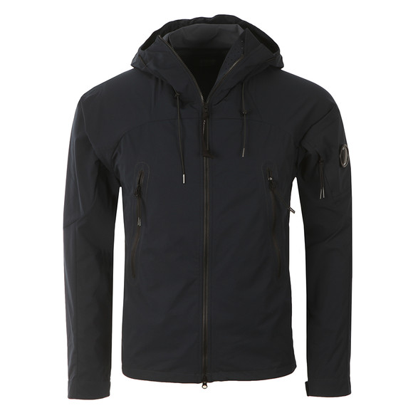 CP Company Mens Blue Pro Tek Hooded Jacket main image