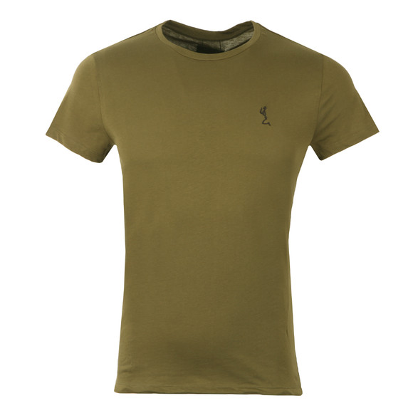 Religion Mens Green Fiction Tee with Webbing main image