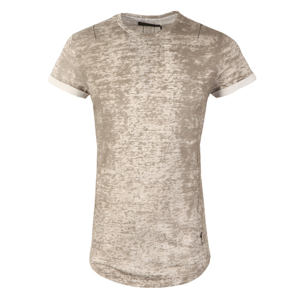 Religion Mens Grey Crack Roll Tee main image