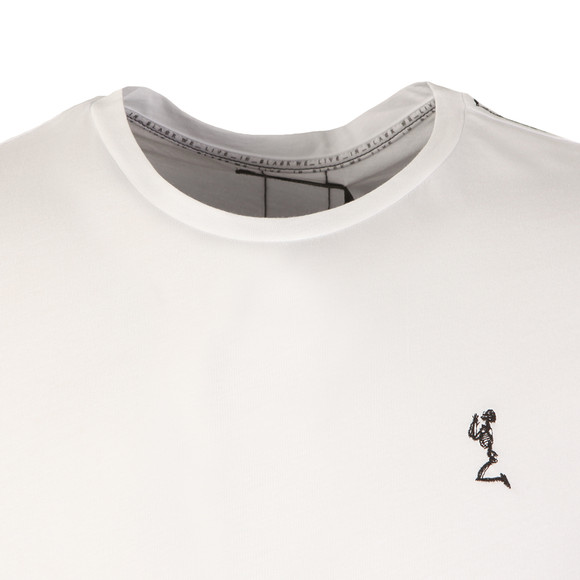 Religion Mens White Fiction Tee with Webbing main image